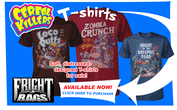 Cereal Killers T-shirts!